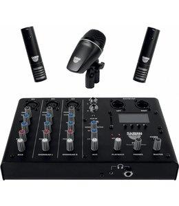 Sabian PSA SSKIT drum microphone mixer, recording kit