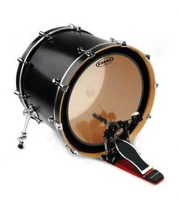 """Evans BD24EMAD2 Emad2 Clear Bass Drum Well 24 """""""