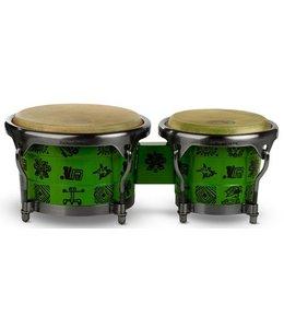 Pearl PBW-300DXRF Bongo set bongos Signature Ritchie Flores green winkel demo