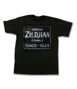 Zildjian T-shirt, Quincy Vintage Sign S black