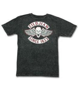 Zildjian T-shirt, Biker, S, mottled black