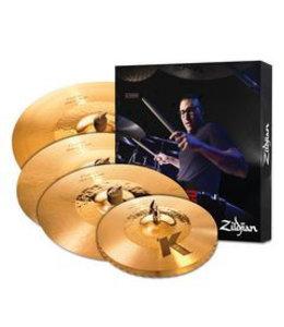 Zildjian Cymbal set, K Custom, Hybrid Cymbal Pack, 14 1/4H/16+18Cr/20R