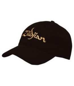 Zildjian Baseball Cap, black gold logo