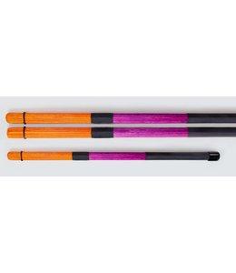 QPercussion QSticks Rods Conversation orange purpur
