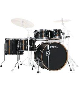 Tama ML40HZBN2-FBV Superstar Duo HD Snare Flat Black Shellset