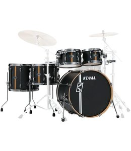 Tama ML40HZBN2-FBV Superstar HD Duo Snare Flat Black shell set