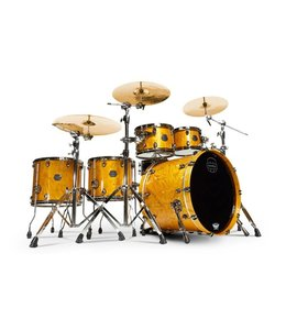 Mapex Saturn drumstel V MH Exotic 5-piece SV628BMNL Amber Maple Burl (MNL)