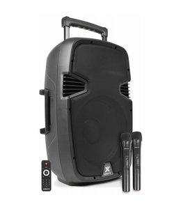 "VONYX SPJ-PA912 Mobiele Geluidsinstallatie ABS 12"" 2 UHF/USB/MP3"