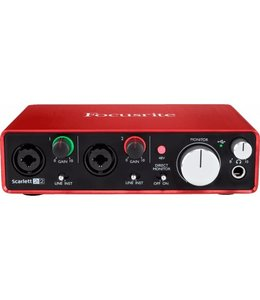 Focusrite RFO Scarlett 3-2I2 G3 audio interface