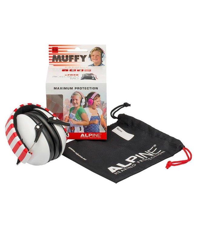 Alpine Muffy Kids wit oorkappen voor kinderen