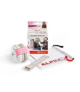 Alpine Muffy Baby Roze oorkappen earmuff