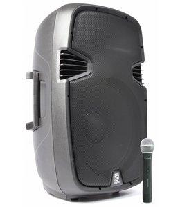 "Skytec 178.051 SPJ1500AVHF SPJ-1500A Actieve Speaker 15"""