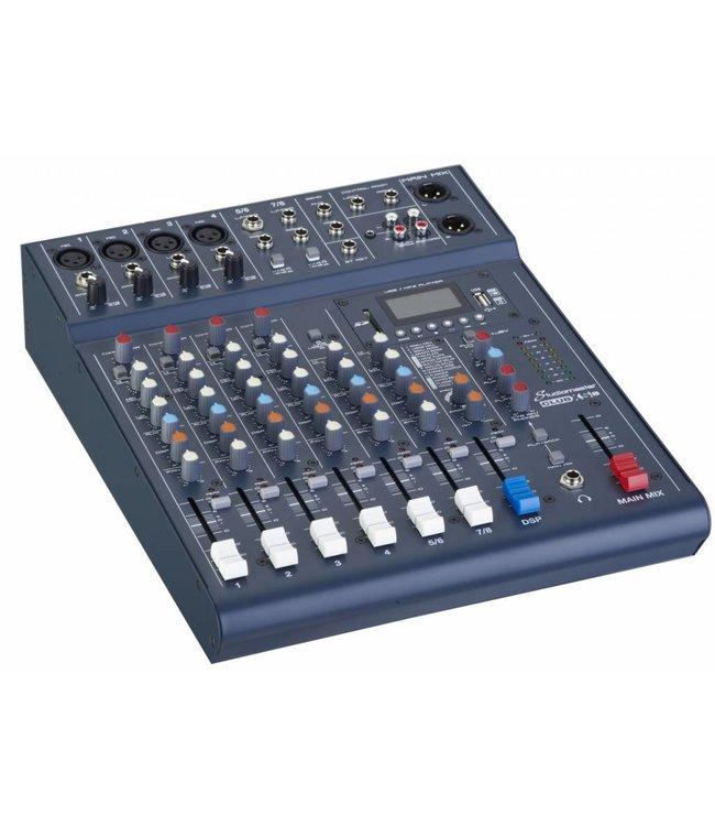 Studiomaster CLUB XS8 mixer 6 channel 8 input mixer 25121