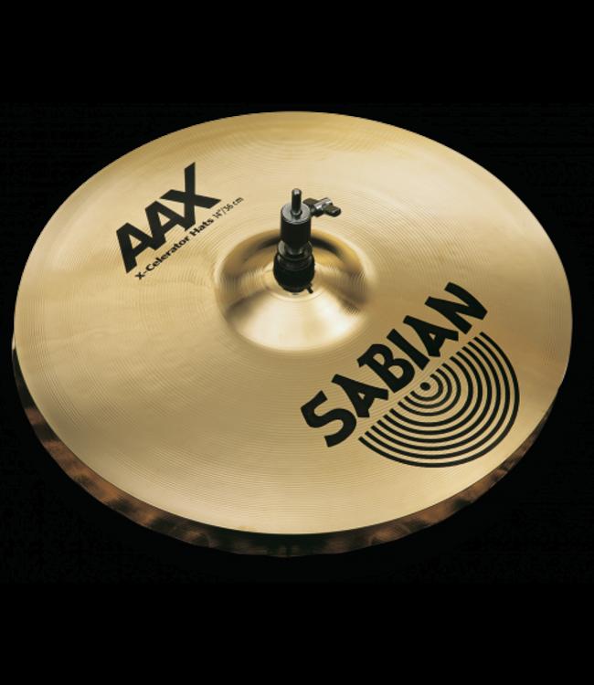 Sabian AAX 14 inch X-Celerator Hi-hat