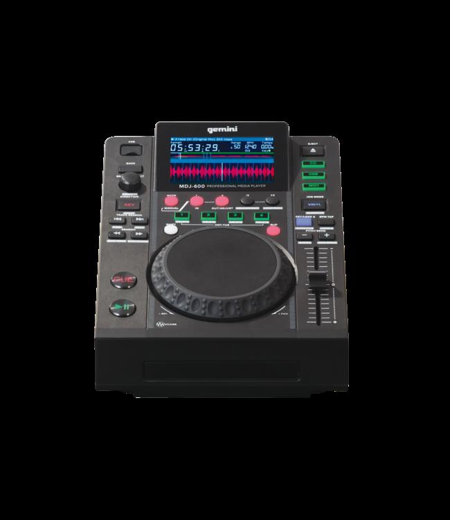 """Gemini MDJ-600, DJ Media player CD, USB, 4,3""""-display, Hot Cue"""