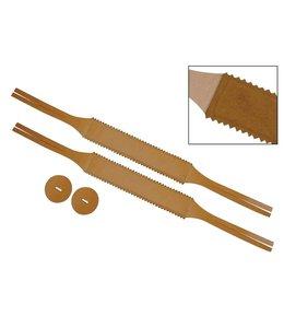 B System HB10 cymbals a deux bekken riem, cymbal straps pair 42mm