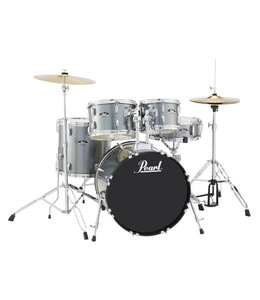 Pearl RS505C/C706 Roadshow drumstel 5 delig charcoal Metallic