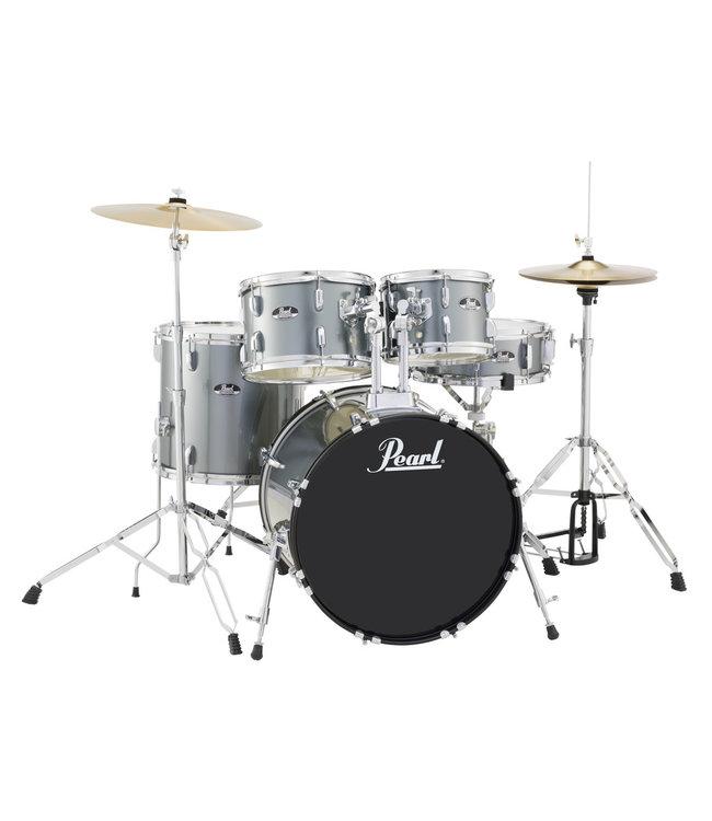 Pearl RS505C/C706 Roadshow drumstel 5 delig charcoal Metallic