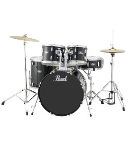 Pearl RS525SC/C31 Roadshow drumstel 5 delig Jet Black compleet