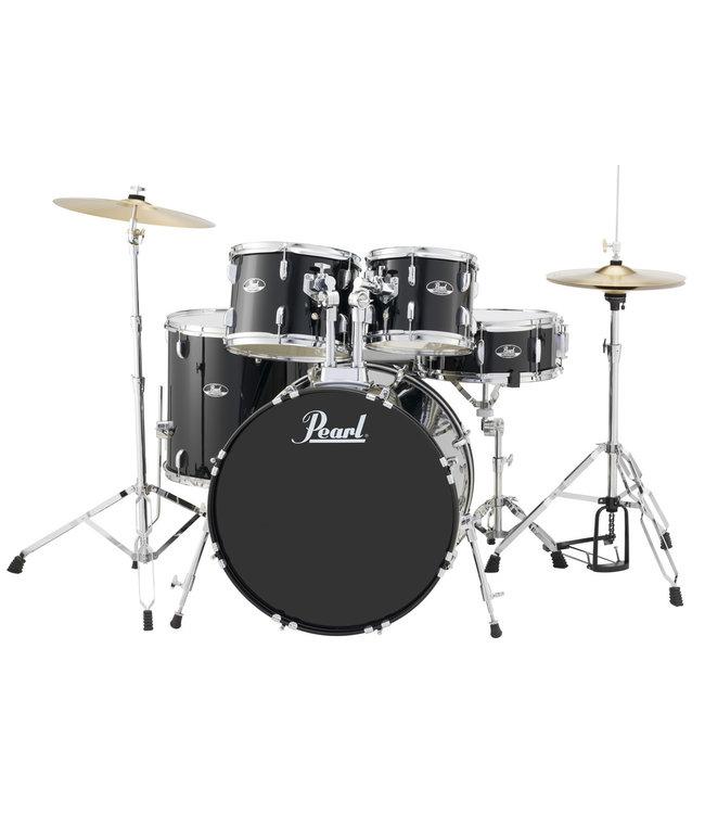Pearl RS525SC/C31 Roadshow drumstel 5 delig Jet Black compleet