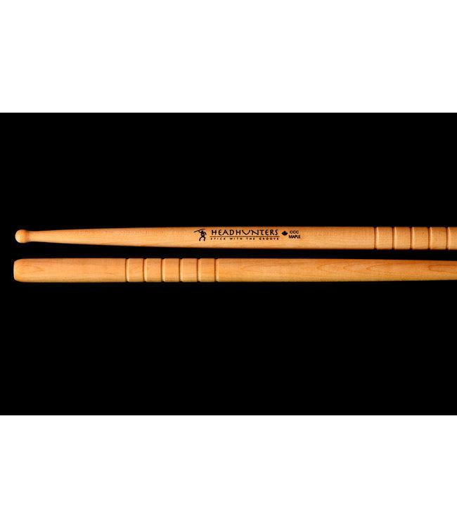 Headhunters  drumsticks MG-C maple woodtip C groove
