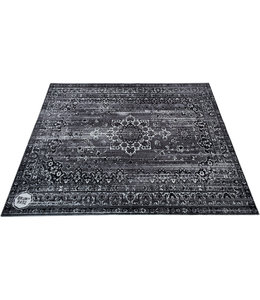 DRUMnBase Vintage Persian Stage drum mat Sheades of Gray
