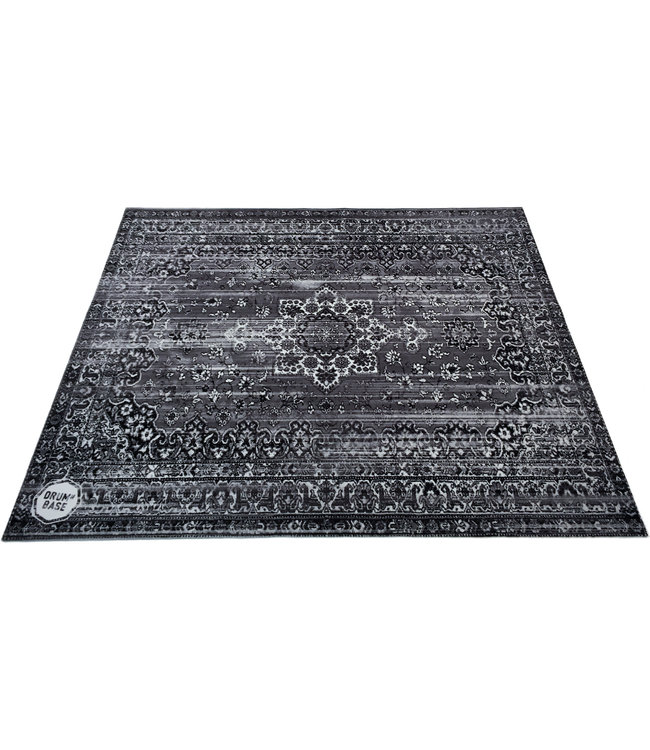 Drum n Base Vintage Persian stage drum mat, drumrug, DNB-VP185 - Gray