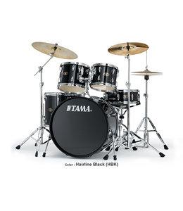 Tama IE52KH6W-HBK  Imperialstar 5pc drumstel incl. Meinl MCS bekkenset