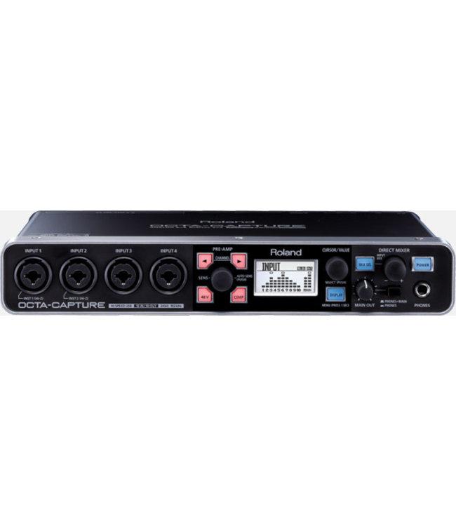 Roland UA-1010 Octa Capture USB audio interface demo