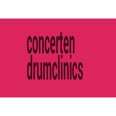 Concerten & drumclinics