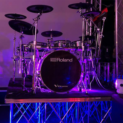 Elektronische drumstellen
