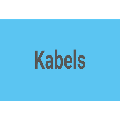 Kabels Cables