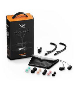 V-MODA ZN1B-NERO Liquid Zink Metal
