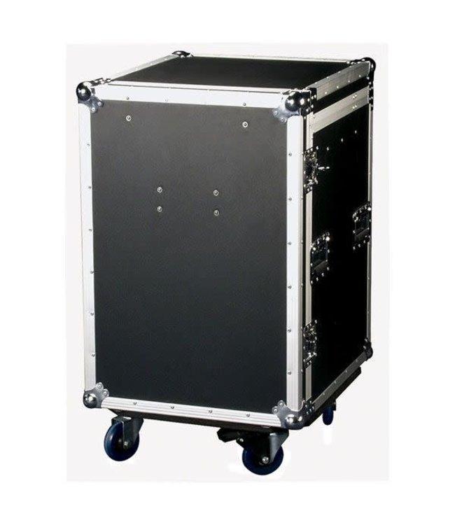 DAP audio pro D7383B Drawercase 12HE + Work Surface Ladecase 12 U + werkblad
