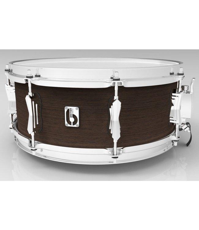 "British Drum Company LON-1465-SN-KC 14x6.5"" Legend snaredrum Kensington Crown"