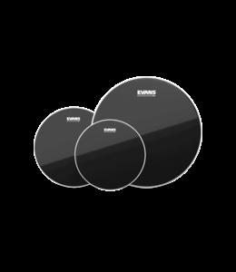 Evans ETP-CHR-R  Black Chrome Tompack, Rock 10 inch, 12 inch, 16 inch