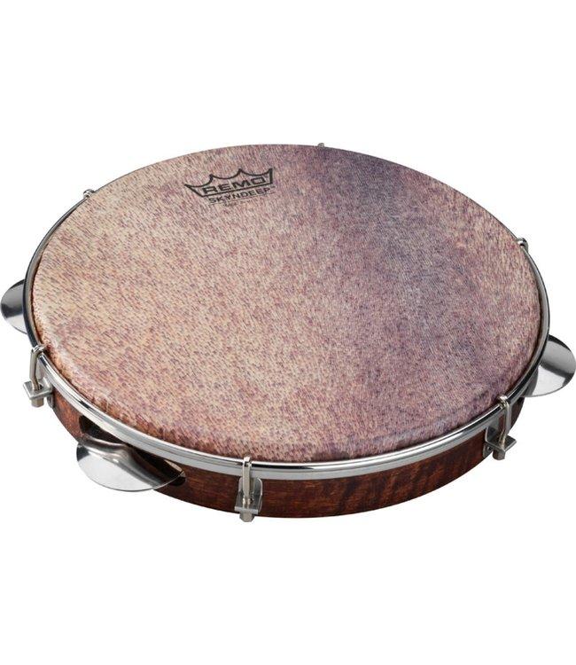 """REMO PD-8210-81-213  Samba Choro Pandeiro Tambourine 1.78"""" x 10"""" shop demo"""