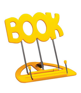 K&M 12440 Uni-Boy Book stand tafel lessenaar geel uniboy