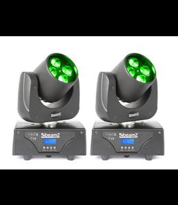 Beamz 2 stuks set Professional Razor500 Moving Head met Roterende lenzen demo model