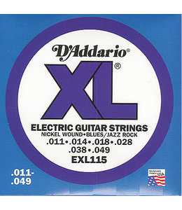 Daddario EXL115 snaren medium gauge elektrisch 11