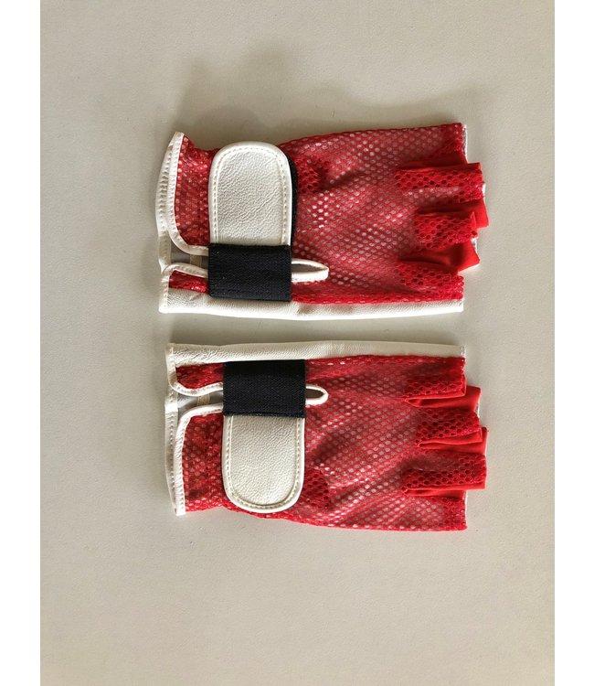 Rockbag RB22951R Large Red Handschoenen gloves fingerless half fingers