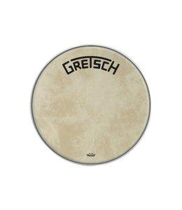 REMO bassdrum Fiberskyn resonantie vel Gretsch Logo Broadkaster