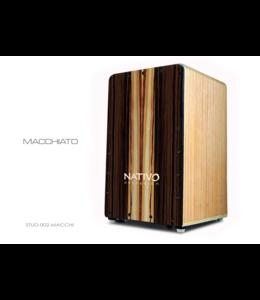 Nativo Percussion Cajon Studio Macchiato