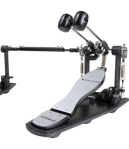 Roland RDH-102 double bassdrum pedal with noice eaters shop demo