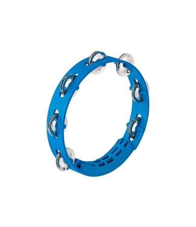"Meinl NINO49SB Compact Tambourine 8"" Blue"