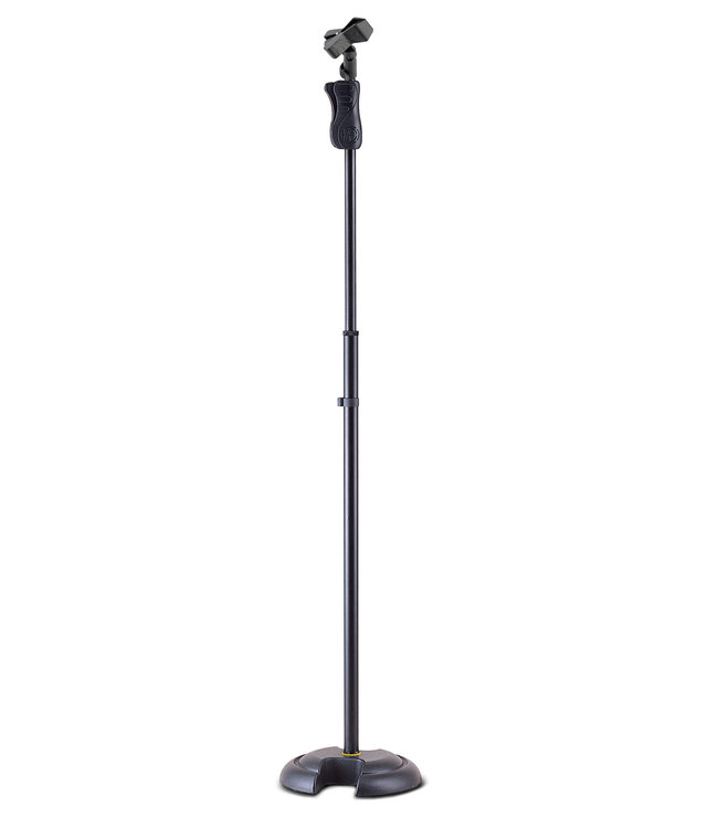 Hercules MS-201B Microfoon Stand 102-168cm, EZ Height, cast iron base