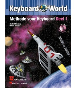 de Haske Keyboard World deel 1 methode voor keyboard