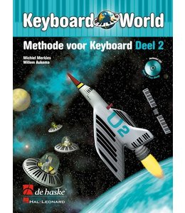 de Haske Keyboard World deel 2 methode voor keyboard