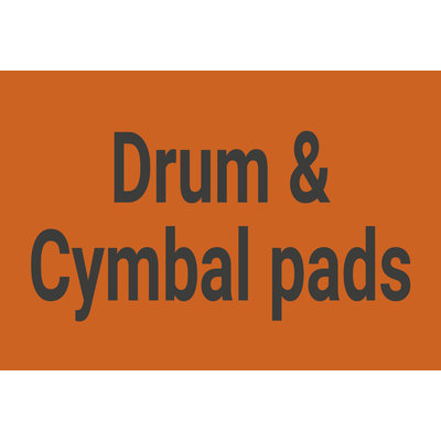 Drum & Cymbal pads