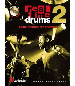 de Haske Real Time Drums lesmethode deel 2 incl. 2x CD